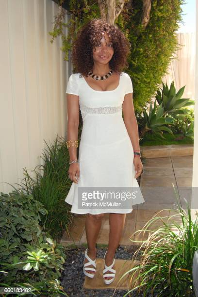 June Haynes attends FARAONE MENNELLA and BARBARA BALDIERI MARCH host a benefit for March to the Top in Malibu at Private Residence on July 5 2009 in...