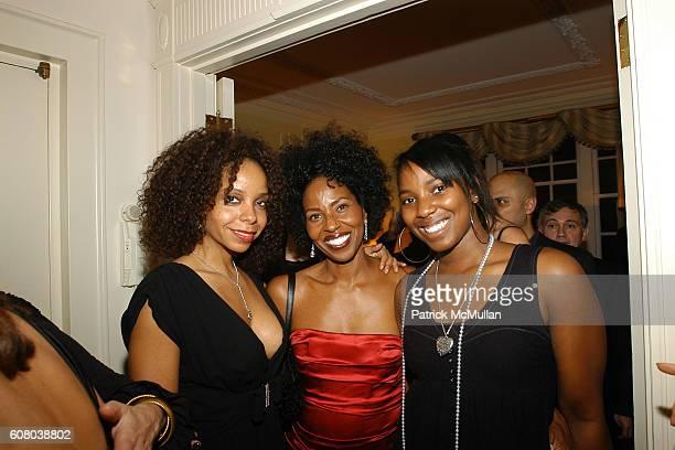 June Haynes Pauletta Washington and Olivia Washington attend RICHARD TURLEY Birthday Dinner at The Home of YueSai Kan on December 21 2006 in New York...