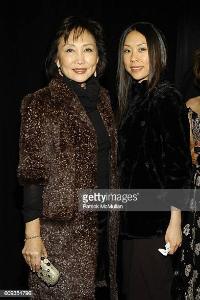 June Lee and Jenne Lee attend VAN CLEEF & ARPELS Host a Dinner and Presentation of TRESORS REVELES - Celebrating the House's Centennial Year at...