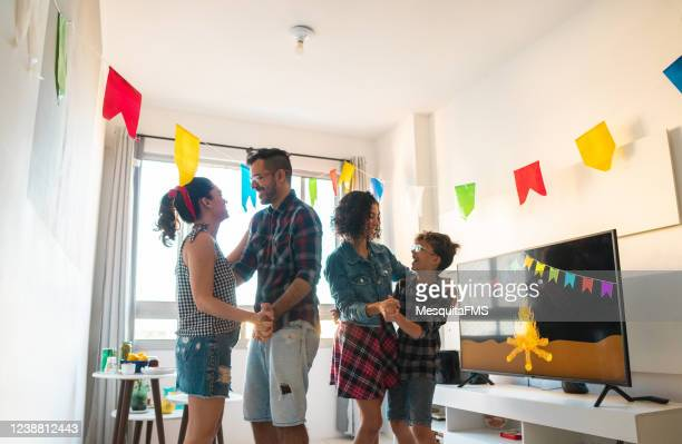 june party at home - tradition stock pictures, royalty-free photos & images