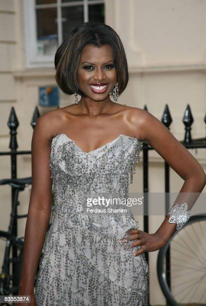June Sarpong attends the launch of 'PoliticsAndTheCity.com' at ICA on July 8, 2008 in London, England.