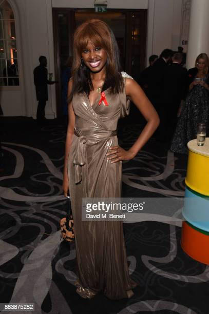 June Sarpong attends the World Aids Day Charity Gala aimed at using football to educate and inspire vulnerable young people in developing countries...