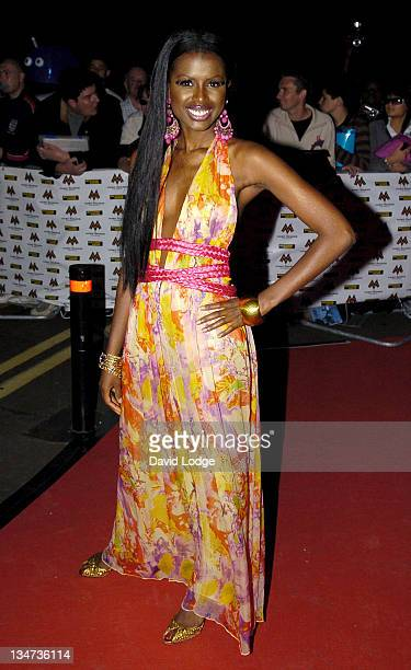June Sarpong during MOBO 2006 Awards Arrivals at The Royal Albert Hall in London Great Britain