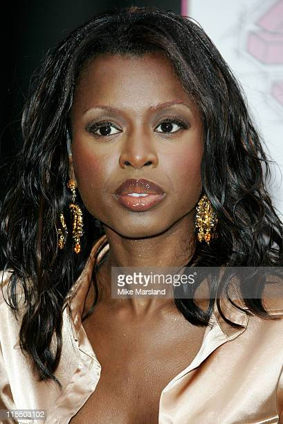 June Sarpong during The 2005 T4 Honours Arrivals at Channel 4 Tv Studios in London Great Britain