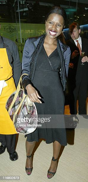 June Sarpong during The Veuve Clicquot Business Woman Of The Year Award Ceremony April 17 2007 at London Stock Exchange in London Great Britain