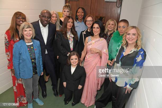 June Sarpong Jude Kelly EditorInChief of British Vogue Edward Enninful Salma Hayek Sarah Harris Paris Lees Fatima Bhutto Julia Gillard Vanessa...