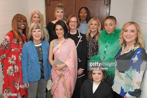 June Sarpong Jude Kelly Sarah Harris Paris Lees Fatima Bhutto Julia Gillard Vanessa Kingori Michelle Roberts Adwoa Aboah Sinead Burke and Rowan...