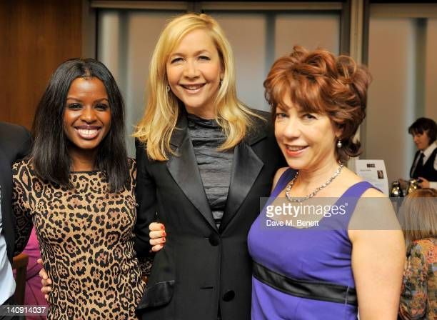 June Sarpong Tania Bryer and Kathy Lette attend the WIE50 Power Breakfast celebrating inspiring and successful women on International Women's Day at...