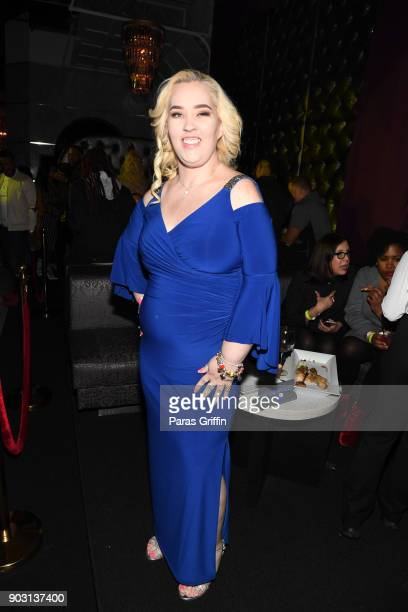 June Shannon aka Mama June attends Growing Up Hip Hop Atlanta season 2 premiere party at Revel on January 9 2018 in Atlanta Georgia