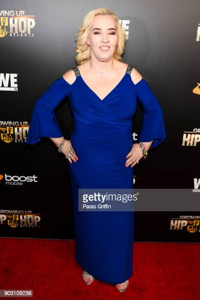 June Shannon attends 'Growing Up Hip Hop Atlanta' season 2 premiere party at Woodruff Arts Center on January 9 2018 in Atlanta Georgia