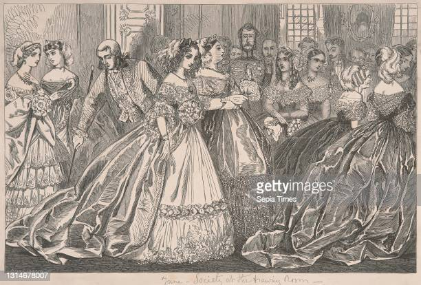 Party Dress Drawing Photos And Premium High Res Pictures Getty Images