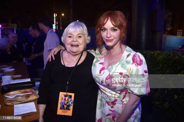 June Squibb and Christina Hendricks attend the world premiere of Disney and Pixar's TOY STORY 4 at the El Capitan Theatre in Hollywood CA on Tuesday...