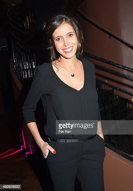 June TV presenter Carole Tolila attends the 'Back To The Party' at Pavillon Champs Elysees on October 1 2015 in Paris France