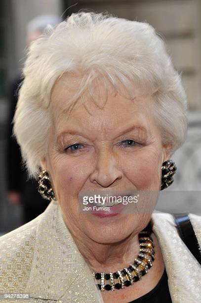 June Whitfield arrives at the 'Is Anybody There?' Gala Premiere at the Curzon Mayfair Cinema on April 29, 2009 in London, England.