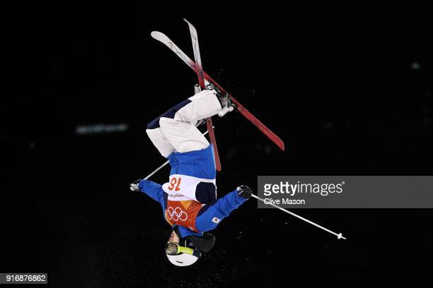 Jung Hwa Seo of Korea competes during the Freestyle Skiing Ladies' Moguls Final on day two of the PyeongChang 2018 Winter Olympic Games at Phoenix...