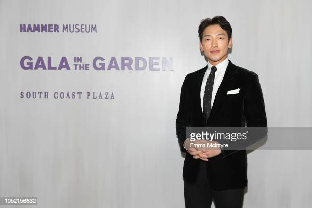 Jung Ji-hoon attends the Hammer Museum 16th Annual Gala in the Garden with generous support from South Coast Plaza at the Hammer Museum on October...