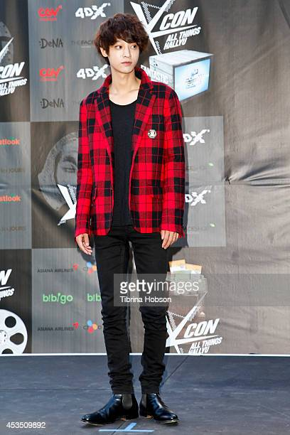 Jung Joonyoung attends KCON 2014 at the Los Angeles Memorial Sports Arena on August 10 2014 in Los Angeles California