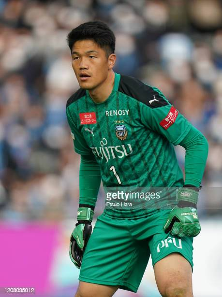 Jung Sung Ryong of Kawasaki Frontale in action during the JLeague MEIJI YASUDA J1 match between Kawasaki Frontale and Sagan Tosu at Todoroki Stadium...