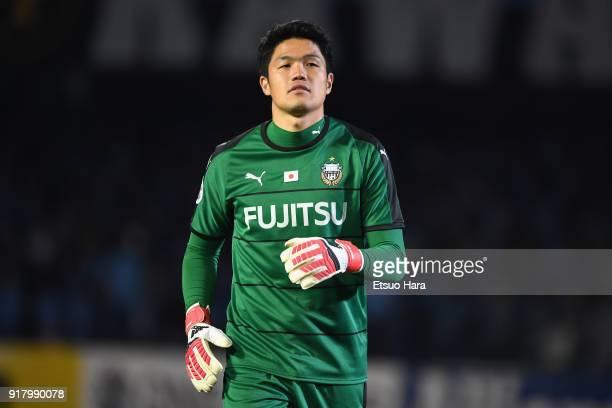 Jung Sungryong of Kawasaki Frontale looks on during the AFC Champions League Group F match between Kawasaki Frontale and Shanghai SIPG at Todoroki...