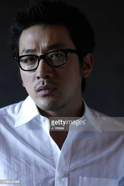 "Jung Woo Ha during 2007 Sundance Film Festival - ""Never Forever"" Portraits at Delta Sky Lodge in Park City, Utah, United States."