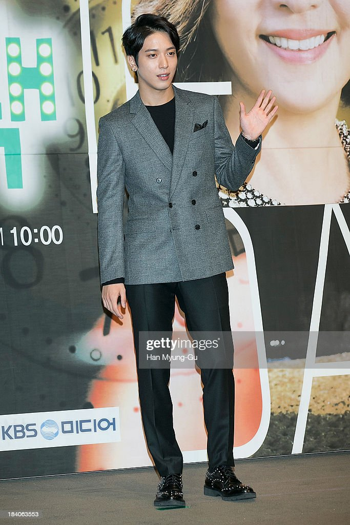 Jung Yong-Hwa of South Korean boy band CNBLUE attends KBS Drama 'The Choice Of The Future' Press Conference on October 10, 2013 in Seoul, South Korea. The drama will open on October 14, in South Korea.