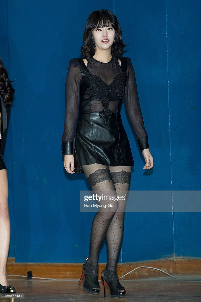 Jung Yoon-Hye of South Korean girl group Rainbow attends the DSP