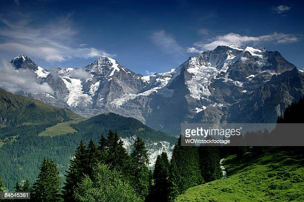 Jungfrau, Monch and Eiger