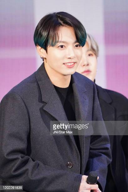 Jungkook Jeon Jungkook of the Kpop band BTS are seen on February 21 2020 in New York City