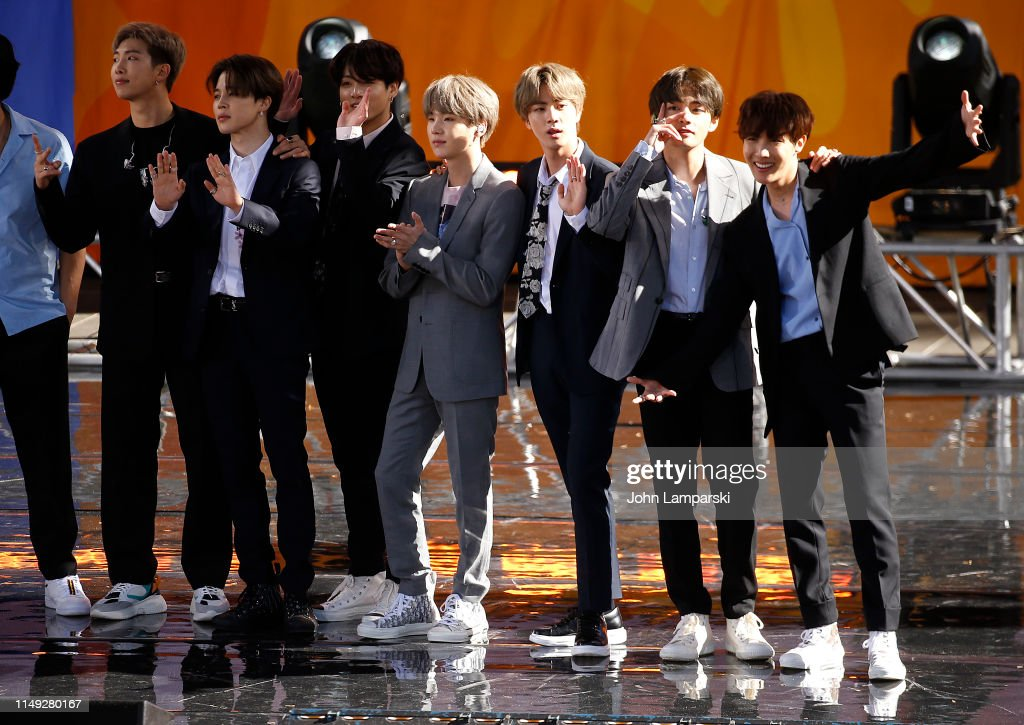 "BTS Performs On ""Good Morning America"" : News Photo"