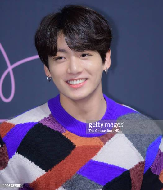 Jungkook of BTS attends press conference for the BTS's Third Album 'LOVE YOURSELF: Tear' Release at Lotte Hotel Seoul on May 24, 2018 in Seoul, South...