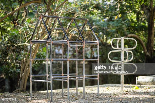 Jungle Gym in a Park