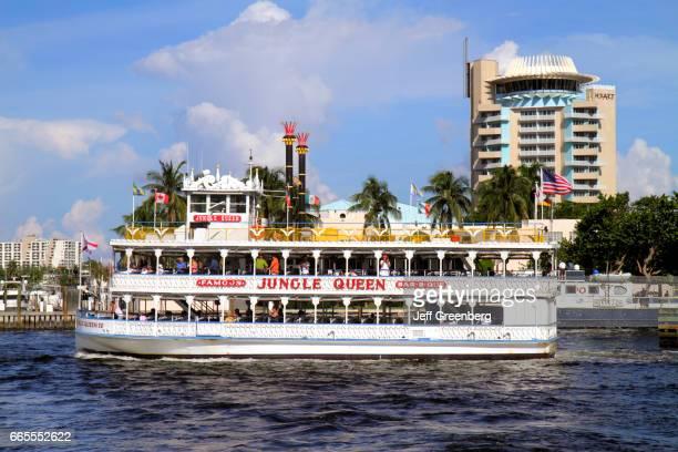 Jungle Queen replica riverboat