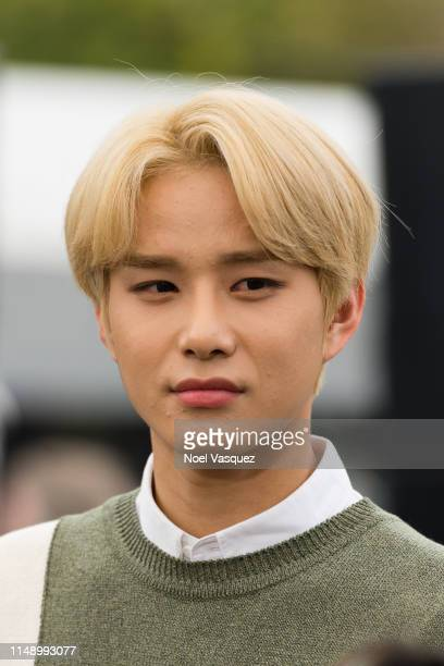 Jungwoo of NCT 127 visits Extraat Universal Studios Hollywood on May 13 2019 in Universal City California
