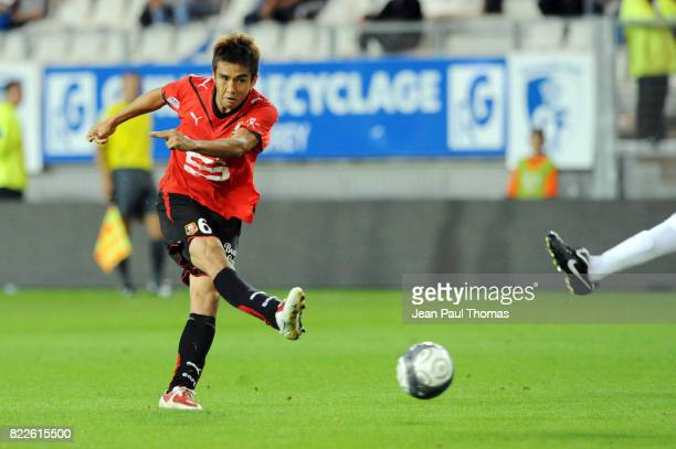 Junichi INAMOTO Grenoble / Rennes 6e journee Ligue 1