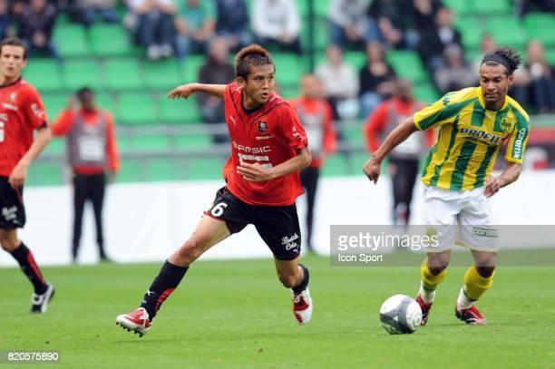 Junichi INAMOTO Rennes / Nantes Match amical Stade de la route de Lorient Rennes