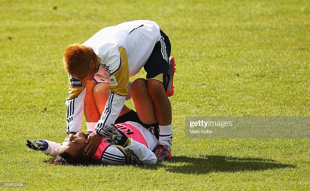 Japan Training - 2010 FIFA World Cup