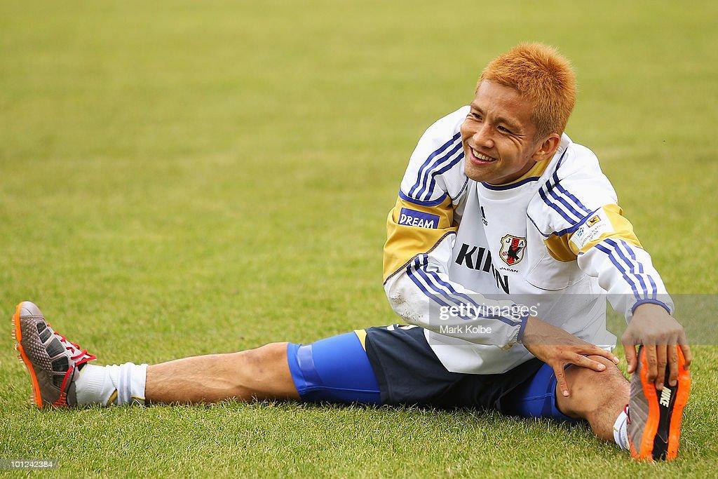 Japan Training - 2010 FIFA World Cup : ニュース写真