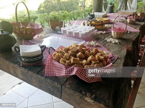 junina party food - brazil nut fotografías e imágenes de stock