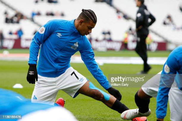 Juninho Bacuna of Huddersfield Town during the Premier League match between West Ham United and Huddersfield Town at London Stadium on March 16 2019...