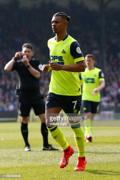 Juninho Bacuna of Huddersfield Town during the Premier League match between Crystal Palace and Huddersfield Town at Selhurst Park on March 30 2019 in...