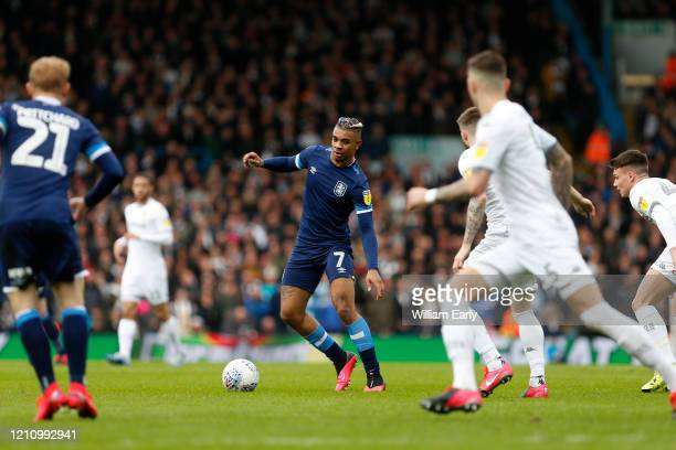 Juninho Bacuna of Huddersfield Town during the Sky Bet Championship match between Leeds United and Huddersfield Town at Elland Road on March 07 2020...