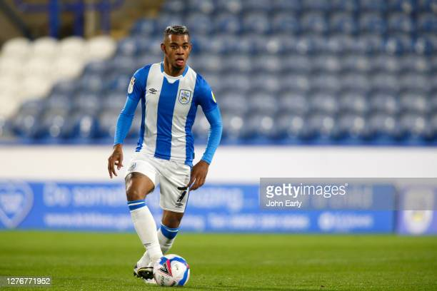 Juninho Bacuna of Huddersfield Town during the Sky Bet Championship match between Huddersfield Town and Nottingham Forest at John Smith's Stadium on...