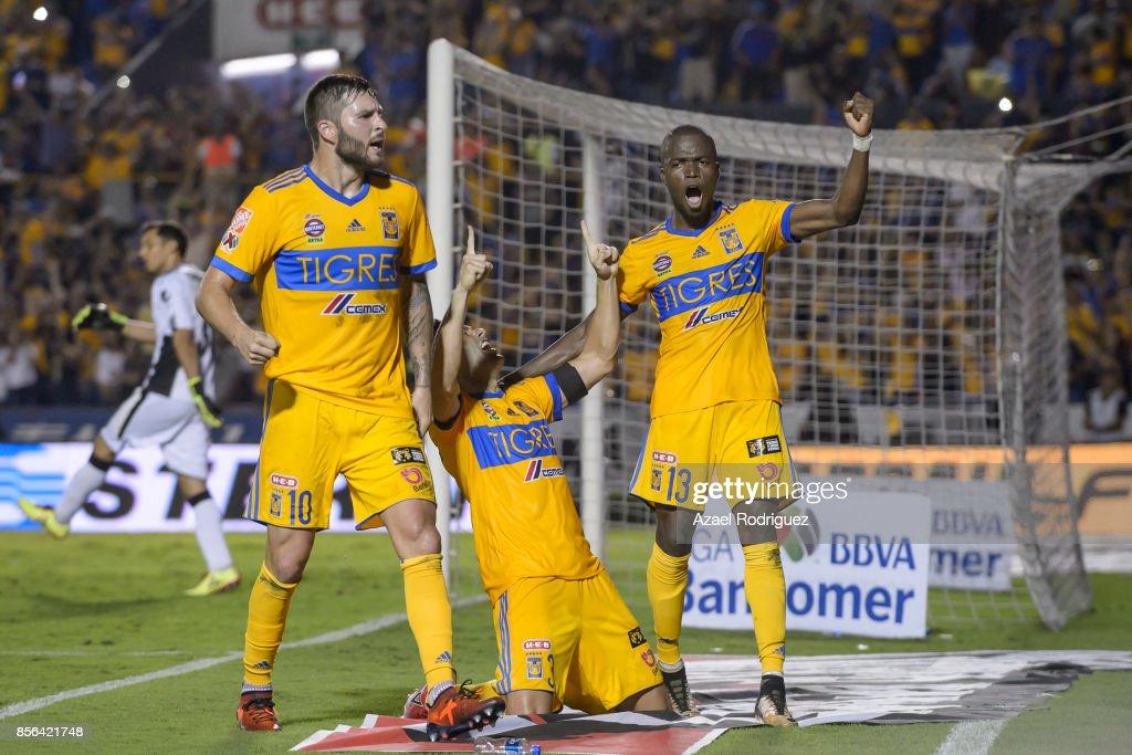 Tigres UANL v Chivas - Torneo Apertura 2017 Liga MX : News Photo