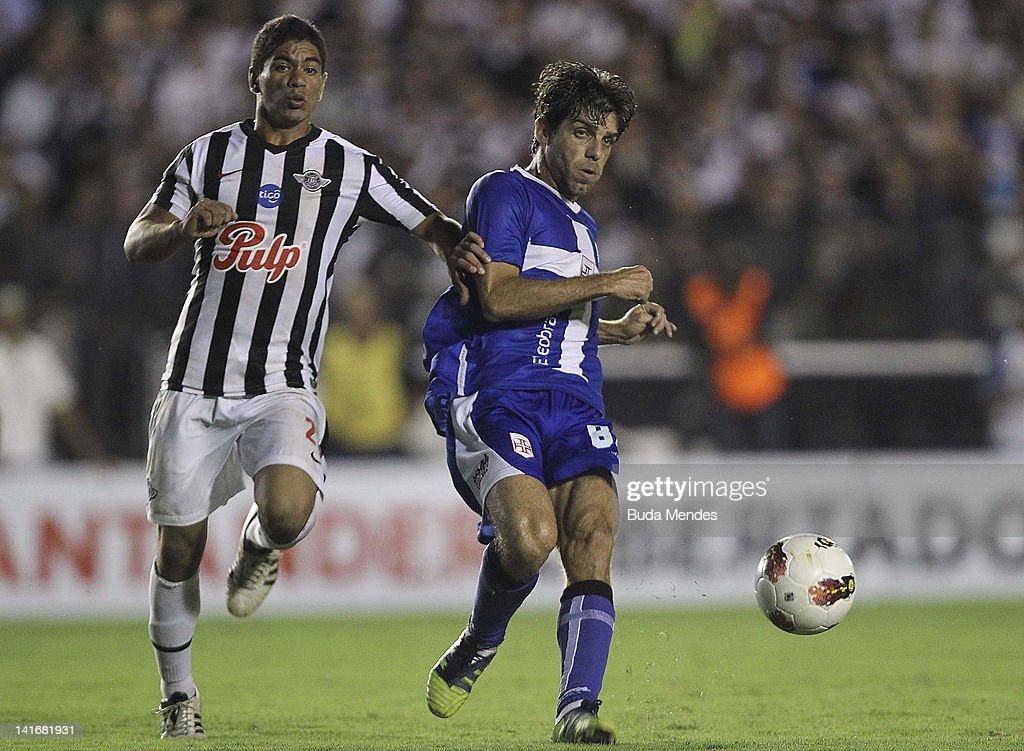 Vasco de Gama v Libertad - Copa Libertadores 2012