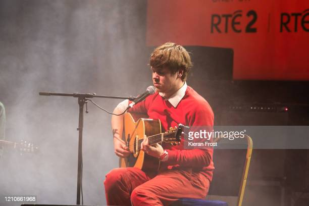 Junior Brother performs at the RTE Choice Music Prize at Vicar Street on March 05, 2020 in Dublin, Dublin.