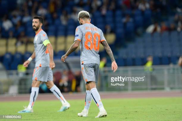 Junior Caicara during the Europe League football match AS Roma vs Basaksehir at the Olympic Stadium in Rome, on september 19, 2019.
