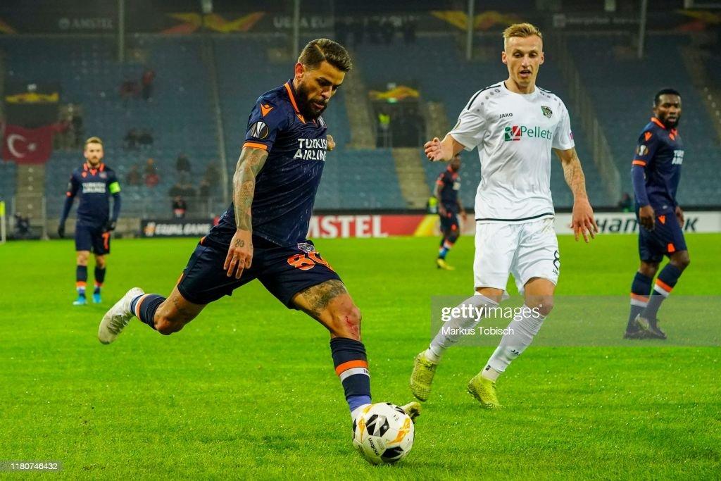 Wolfsberger AC v Istanbul Basaksehir F.K.: Group J - UEFA Europa League : News Photo