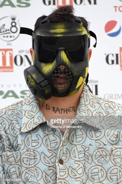 Junior Cally attends Giffoni Film Festival 2019 on July 25 2019 in Giffoni Valle Piana Italy