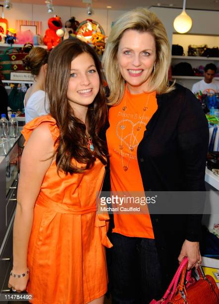 Junior Committee Member Paris Sanders and Nancy Davis attend the Race To Erase MS fundraiser held at Kitson on Melrose to kick off May as multiple...