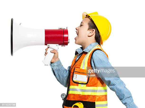 junior construction worker - izusek stock pictures, royalty-free photos & images